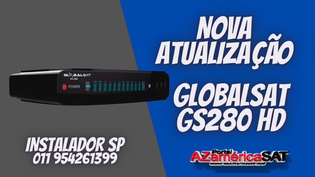 Nova Atualização globalsat gs280 hd confira