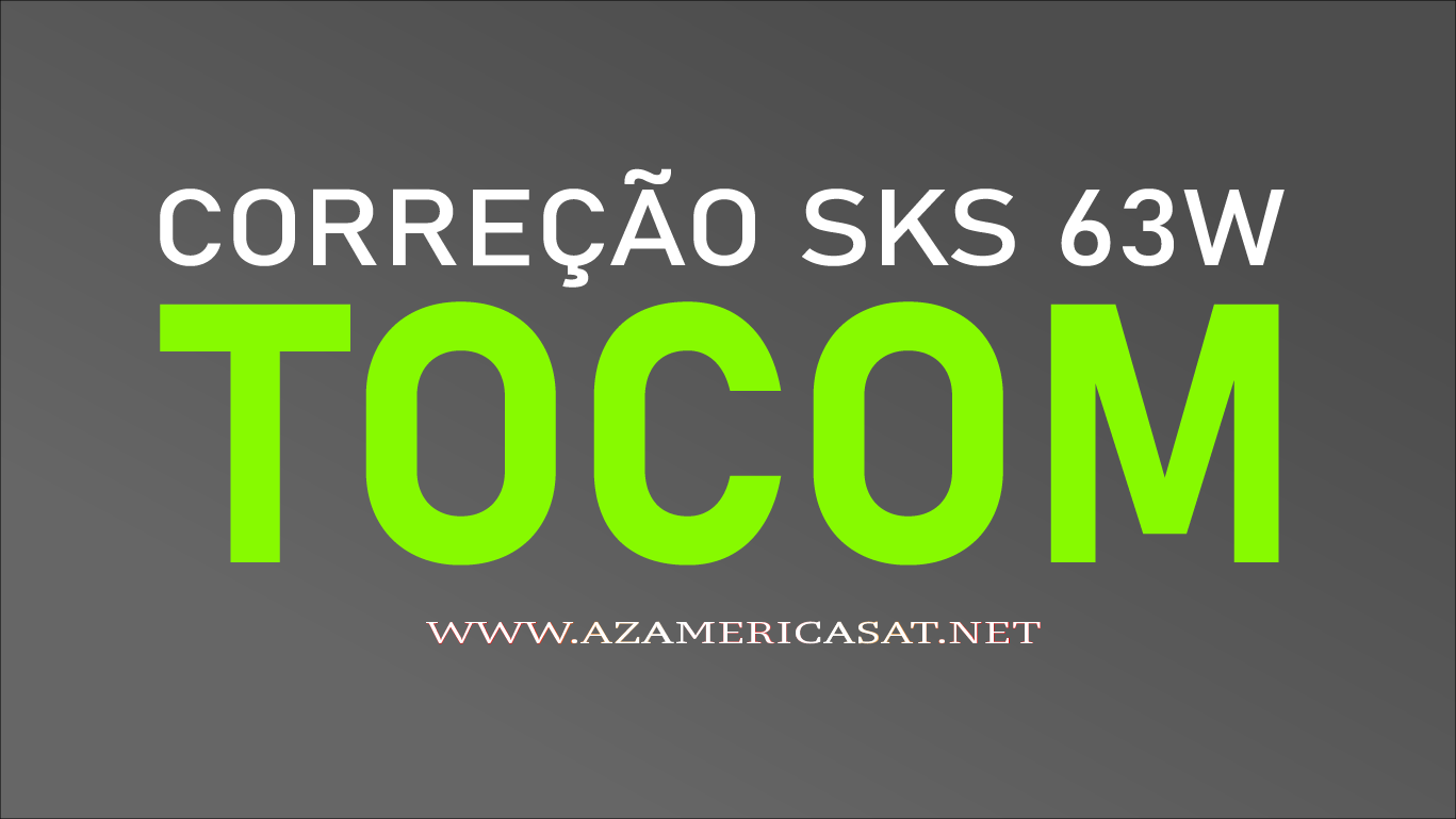 TOCOM SKS 63W PATCH