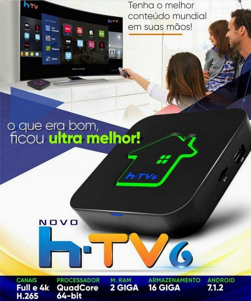 Tv Box htv 6+ promção