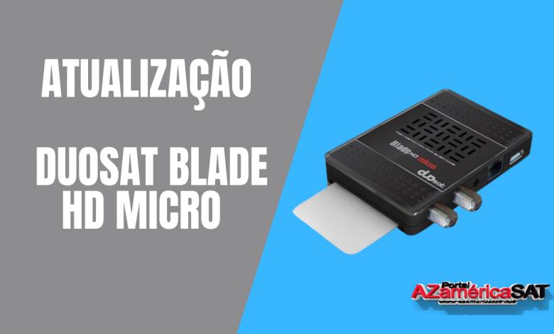 _Atualização Duosat Blade HD Micro
