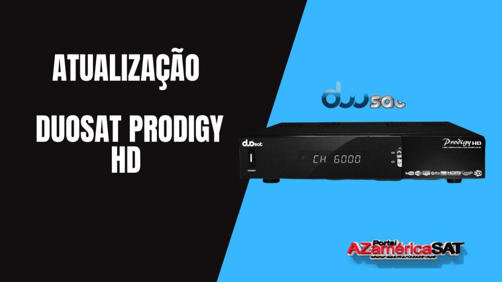 Atualização Duosat Prodigy HD