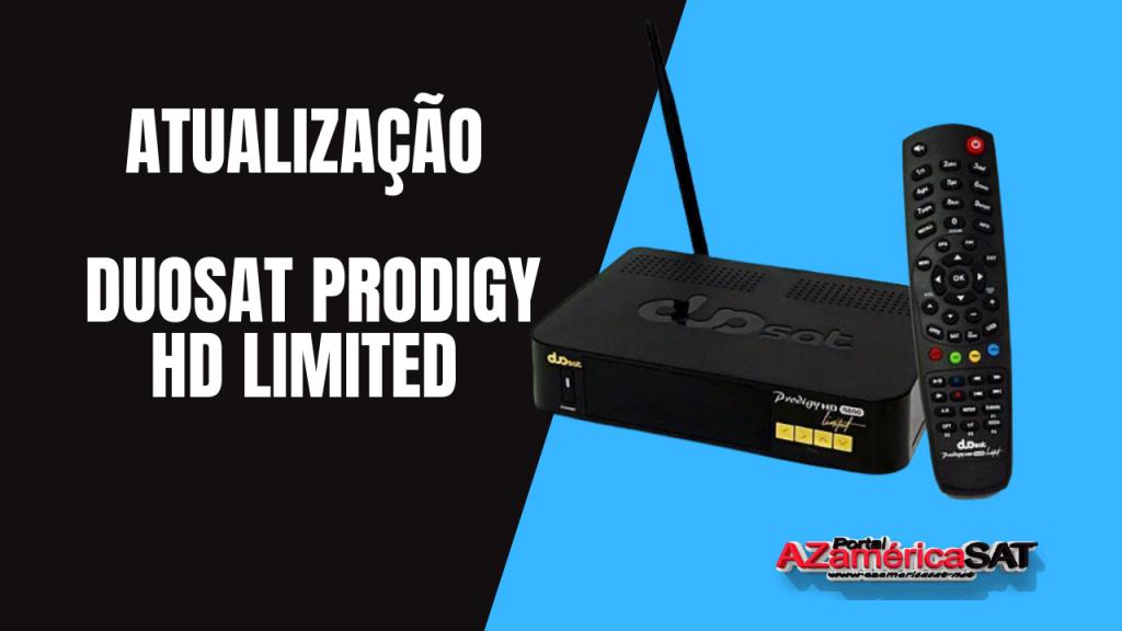 _Atualização Duosat Prodigy HD Limited