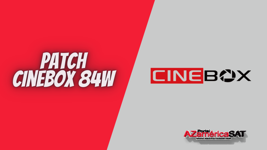 Atualização patch receptor cinebox