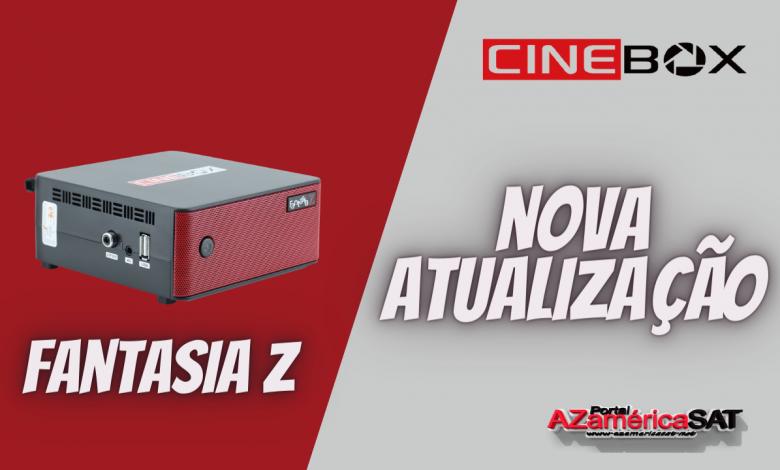 Atualização receptor Cinebox Fantasia Z