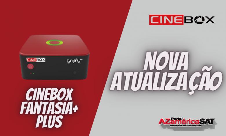 Atualização Receptor Cinebox Fantasia+ PLUS