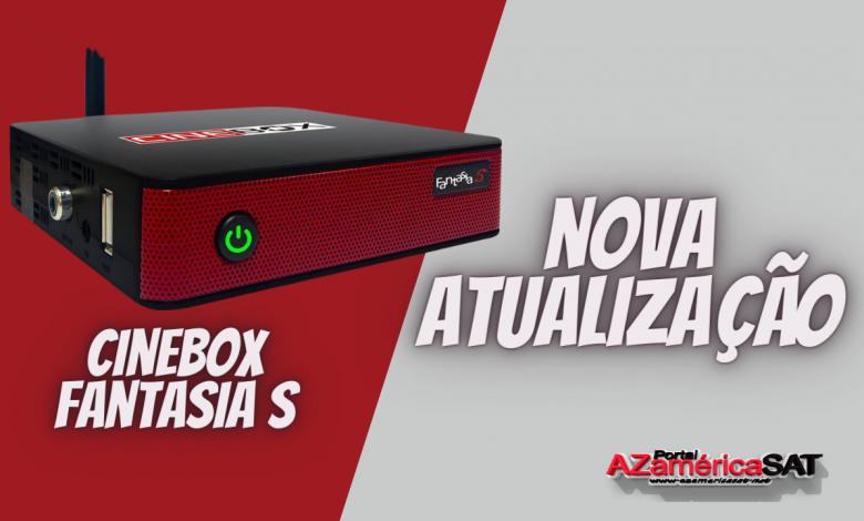Atualização Receptor Cinebox Fantasia S