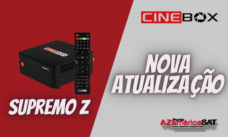 Atualização Receptor Cinebox supremo Z