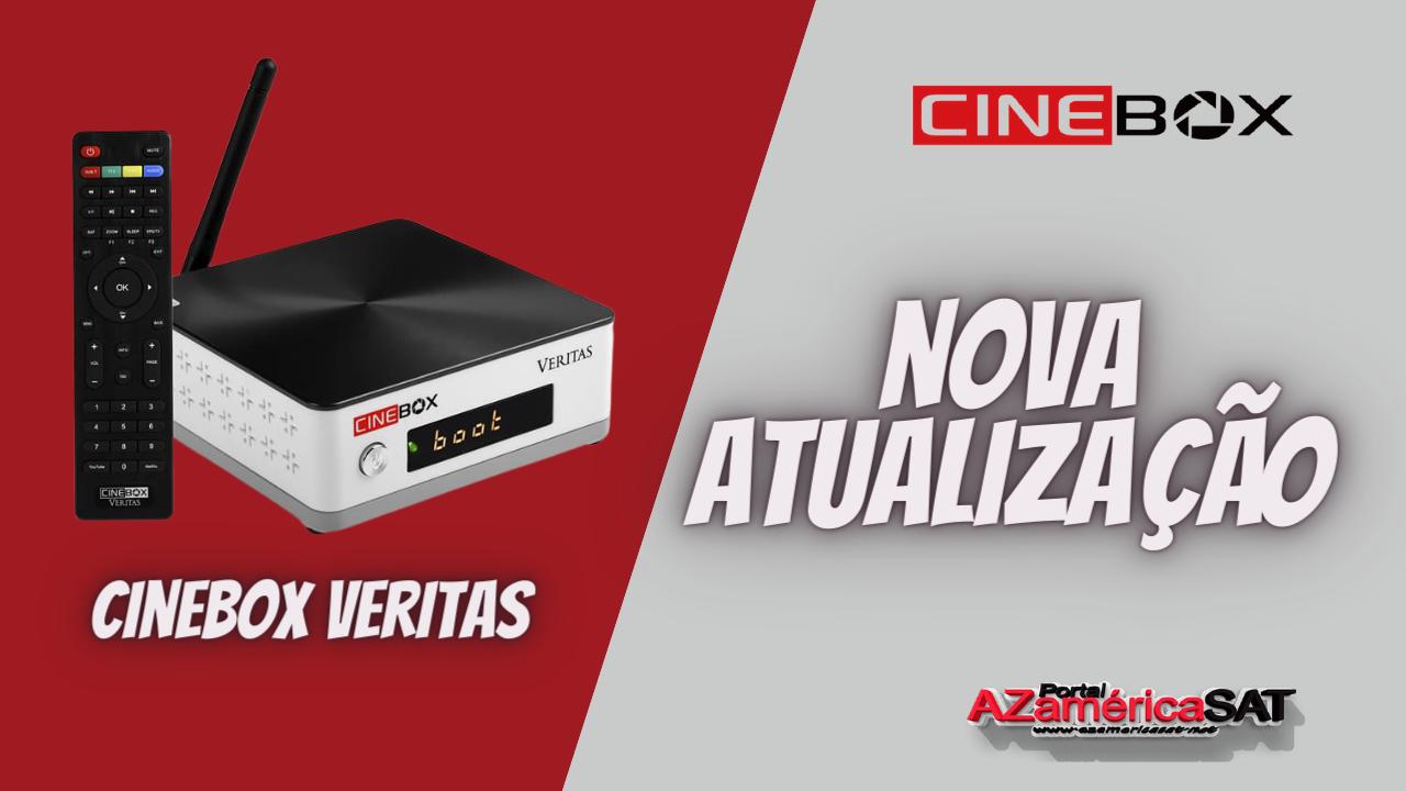 Atualização Receptor Cinebox veritas -- azamerica sat