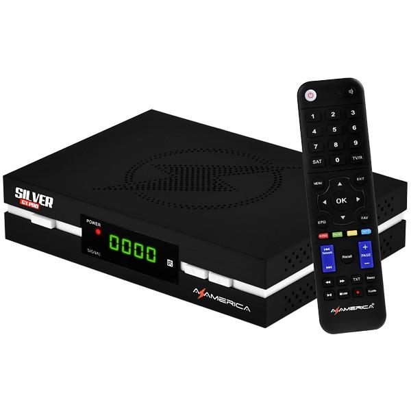 Azamerica Silver GX PRO 4K Ultra HD