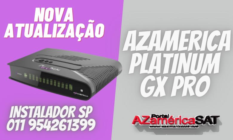 NOVA ATUALIZAÇÃO AZAMERICA PLATINUM GX PRO JA - CONFIRA