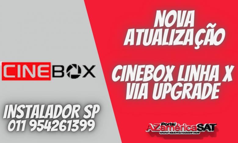 atualização cinebox Nova Atualização Cinebox Linha X
