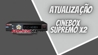 atualização Cinebox Legend x2 - Azamerica SAT