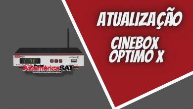 atualização Cinebox Optimo x - Azamerica SAT