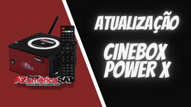 atualização Cinebox Power X