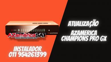 atualização azamerica champions pro gx