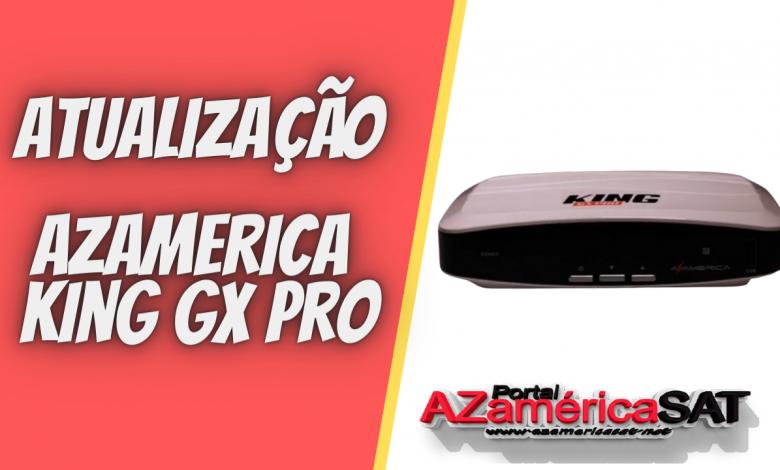 atualização azamerica king gx pro