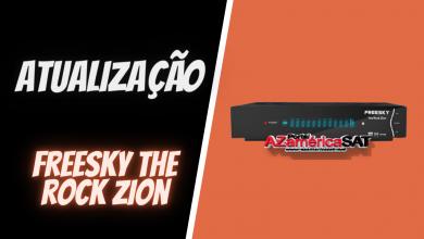 atualização freesky the rock zion - azamerica sat