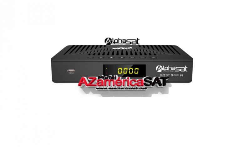 Alphasat WOW nova atualização Azamerica SAT