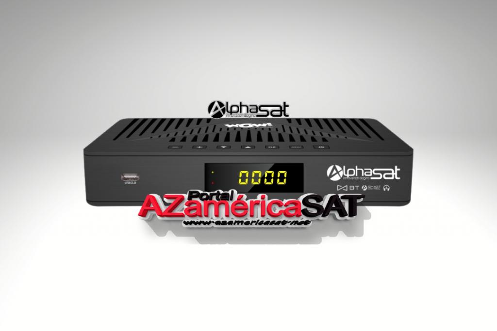 atualização alphasat wow - Azamerica SAT