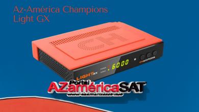 atualização az-américa champions Light GX