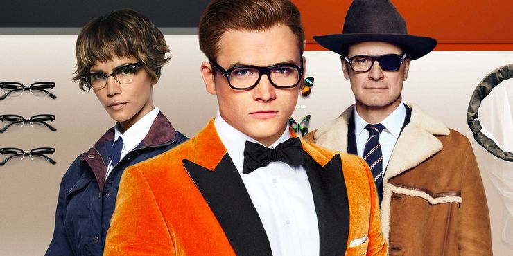 Colin Firth Taron Egerton and Halle Berry in Kingsman 2 1