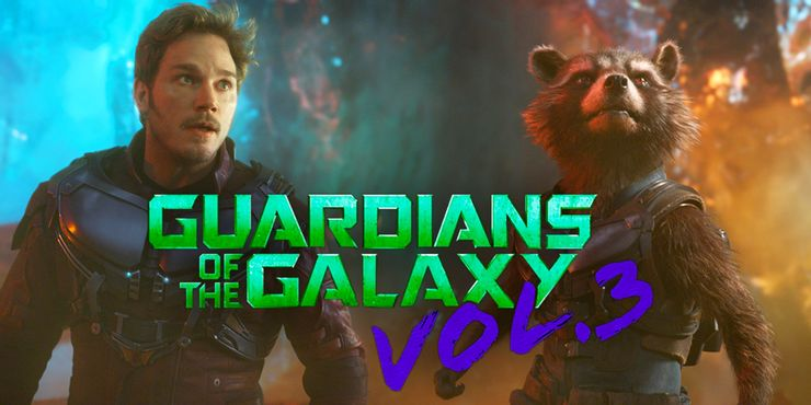 Guardians of the Galaxy Vol. 3 Rocket and Star Lord