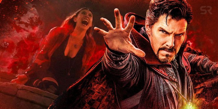 Scarlet Witch Doctor Strange and the Multiverse of Madness Villain Theory
