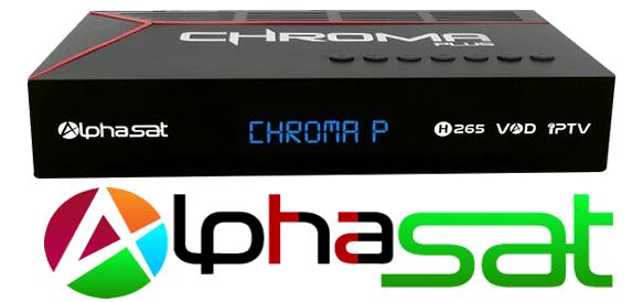 Atualização Alphasat Crhoma Plus HD ACM V.10.07.29.S55 - 2018