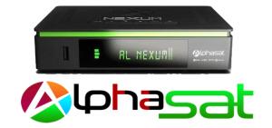 Atualização Alphasat Nexum HD ACM V.10.07.29.S55 - 2018