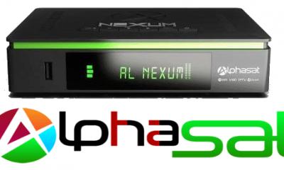 Alphasat Nexum Nova Atualização v.10.09.12.s55 - 16 Outubro 2018