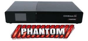 Atualização Phantom Cinema 4k V.2.0.2.823 - 2018