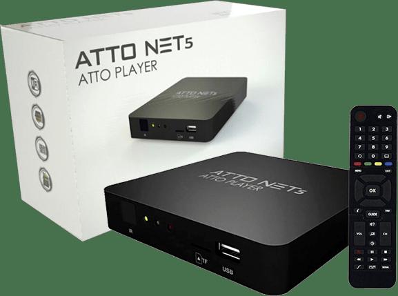 atualização Atto Net 5