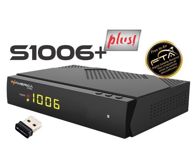 Atualização AZ-América S1006+ Plus