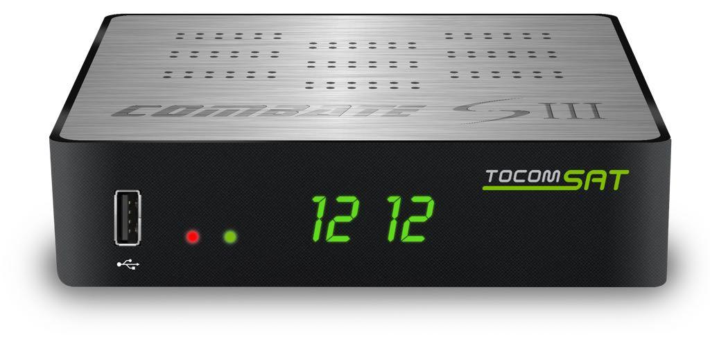 Tocomsat Combate S3 Nova Atualização v.1.05 - 22 Outubro 2018